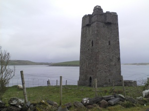 Grainne's castle, Mayo, Ireland
